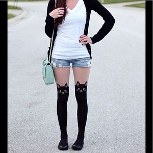 Accessories - Cat pantyhose
